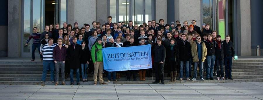 Teilnehmer der Zeit-Debatte Dresden 2014 (Foto: Jan Stöckel)