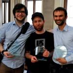 Willy Witthaut, Sascha Schenkenberger und Christian Strunck (v.l.n.r.) (Foto: AFA Debattierclub Wien)