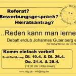 Flyer - Vorderseite Heiratsantrag bunt SS 2016